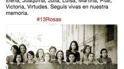 Pedro Sánchez recuerda a las 13 Rosas con una foto de las actrices de la