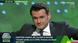El irónico 'palo' de Iñaki López a AENA por lo que le han obligado a hacer en un