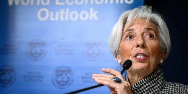 La directora general del FMI Christine
