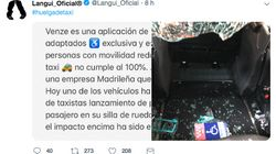 El Langui denuncia una agresión a un VTC para personas de movilidad