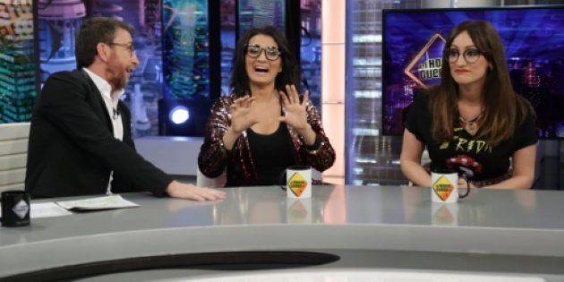 Pablo Motos, Silvia Abril y Ana Morgade en 'El