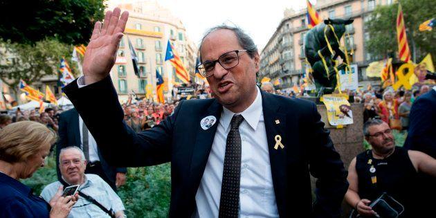 El presidente catalán, Quim