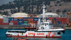 El 'Open Arms' sigue a la deriva con 87 migrantes rescatados hace cinco
