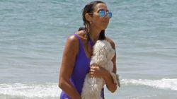 La foto de Paz Padilla en la playa junto a su hija que genera un comentario unánime por un