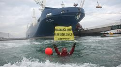 Ignacio Robles, el bombero del puerto de Bilbao que se niega a exportar
