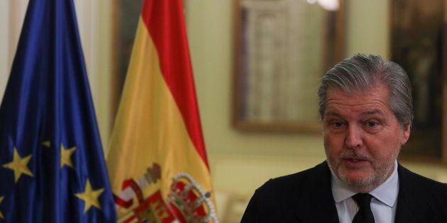 El portavoz del Gobierno y ministro de Educación, Íñigo Méndez de Vigo. REUTERS/Sergio