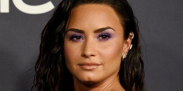 La cantante Demi Lovato, en los premios InStyle el 23 de octubre de 2017 en Los
