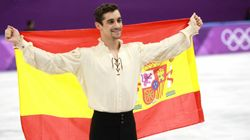 Javier Fernández, medalla de bronce en los Juegos de