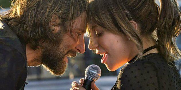 Bradley Cooper y Lady Gaga en 'Ha nacido una