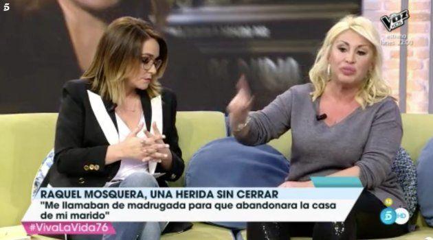 Toñi Moreno abronca a Raquel Mosquera en 'Viva La