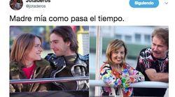 La reacción de Eva Santolaria a este tuit viral sobre 'Compañeros' y María Teresa