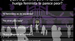 ENCUESTA: ¿Qué argumento para no apoyar la huelga feminista te parece