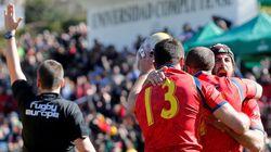La selección española de rugby da un paso de gigante para estar en el