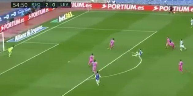 El gol de Sergio Canales del que todo el mundo