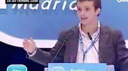 Pablo Casado, en 2008:
