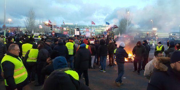 Protesta ante