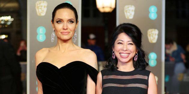 Angelina Jolie y Loung