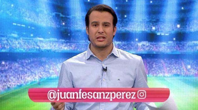 Juanfe Sanz fue el presentador del 'Chiringuito' este