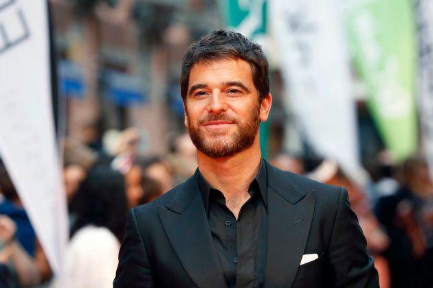 El actor Alfonso Bassave, durante la presentación de la serie 'Estoy vivo'
