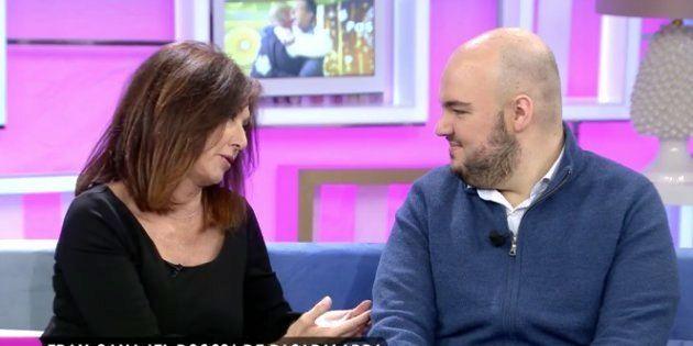 Ana Rosa Quintana y Fran, en 'El programa de Ana Rosa