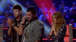 La emocionante actuación de 'La Voz' que dejó llorando a Antonio