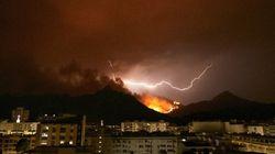 El incendio de Llutxent arrasa más de 2.857 hectáreas y calcina entre 10 y 20