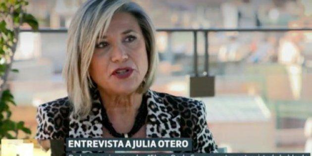 La periodista Julia Otero en Liarla