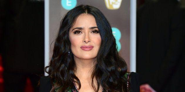 Salma Hayak, en la alfombra roja de los premios BAFTA