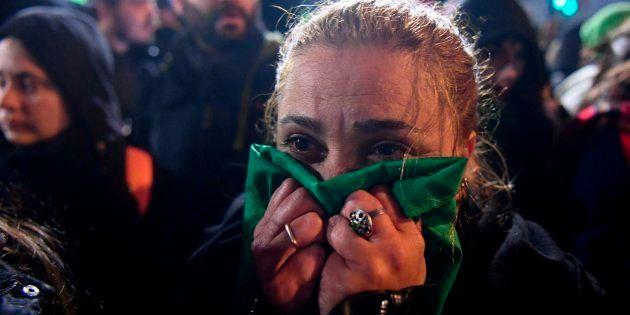 Las poderosas fotos del grito de las argentinas a favor de un aborto seguro y