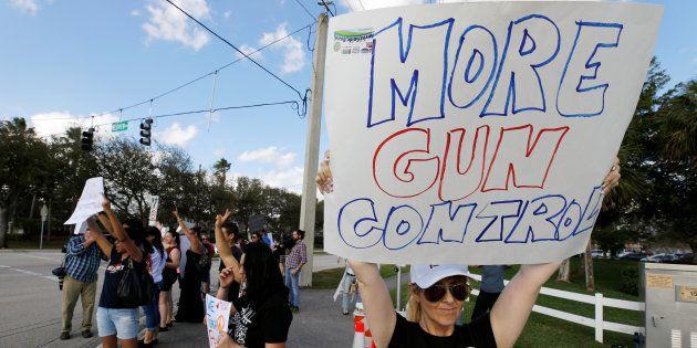 Sobrevivientes de la matanza en Florida convocan una gran marcha contra las