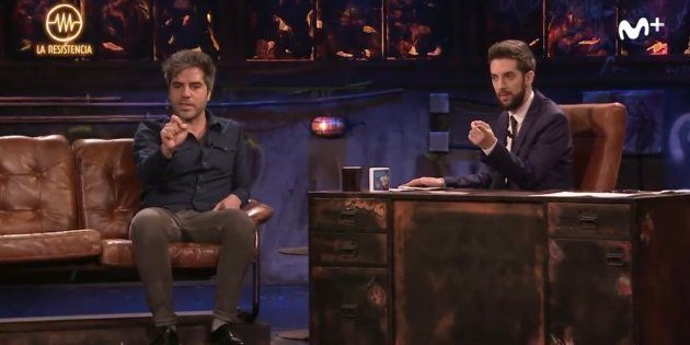Ernesto Sevilla regala un 'pastizal' a un hombre del público de 'La