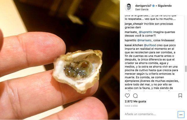 El cocinero Dani García se defiende tras su polémica foto en