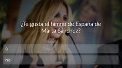 VOTA: ¿Te gusta el himno de España de Marta