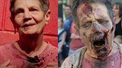 Abuela de día, zombie de