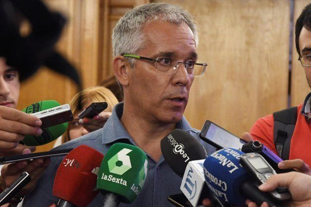 El concejal del Ayuntamiento José María López