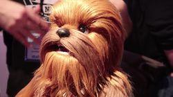 El nuevo juguete de Chewbacca es tan realista como