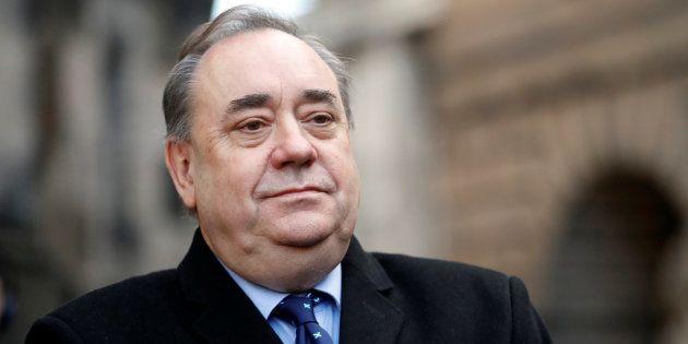 Alex Salmond, retratado en Edimburgo el pasado 8 de
