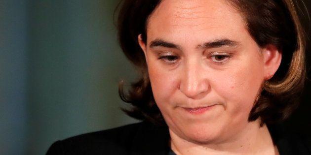 Ada Colau, alcaldesa de Barcelona, en una imagen de