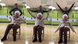 Helene, 93 años y bailando por Alaska: el viral más entrañable del