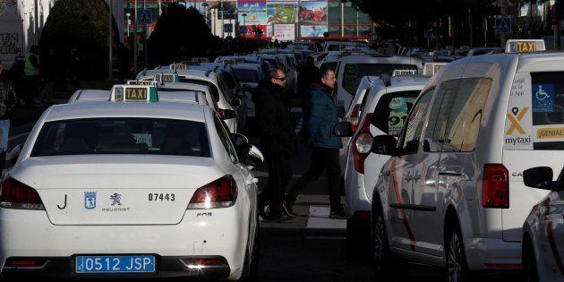 Taxistas en