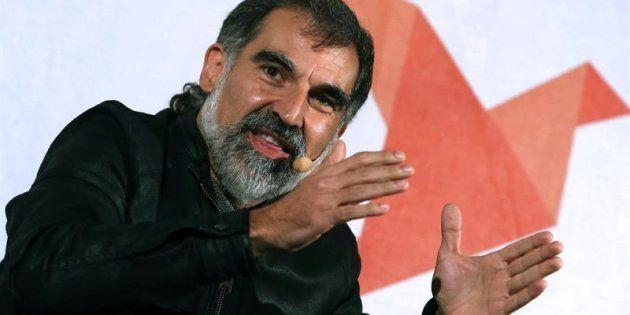 El líder de Òmnium Cultural, Jordi Cuixart, en una imagen de