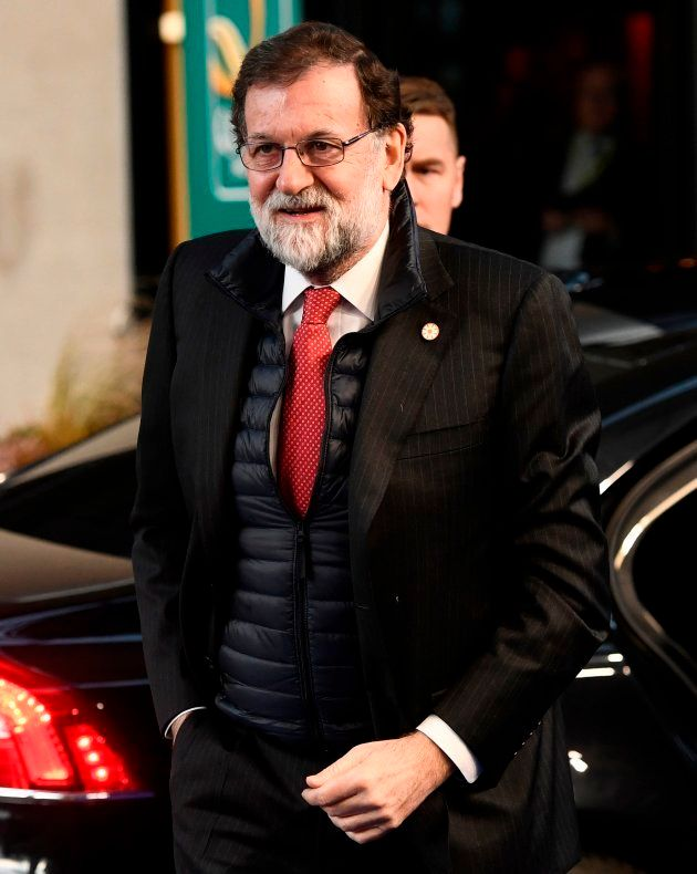 Mariano Rajoy durante un acto oficial en Gotemburgo