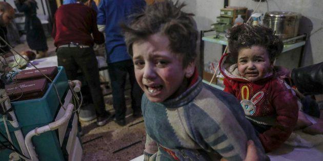 Más de 200 civiles mueren en Siria en bombardeos del