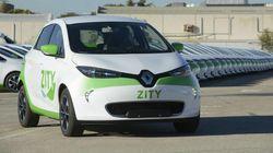 Los coches compartidos de Zity se extienden a Ifema en pleno conflicto del