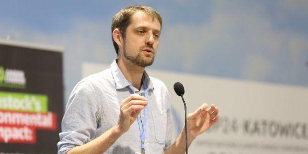 Florent Marcellesi, eurodiputado de Equo y cabeza de lista de los ecologistas en las elecciones