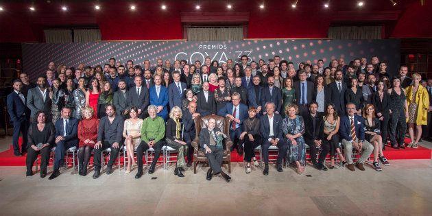 Todos los nominados a los Goya