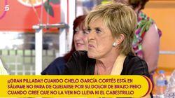 Chelo García-Cortés, acorralada en 'Sálvame' al ser acusada de fingir con su