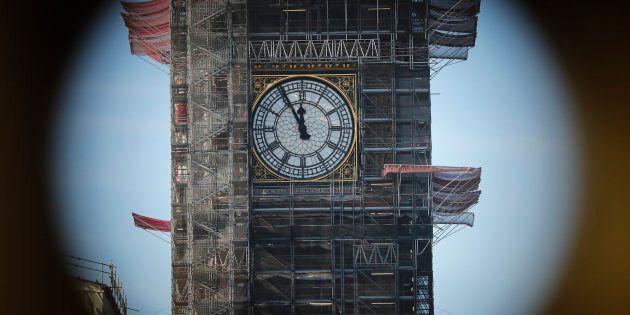 El reloj del Big Ben, en