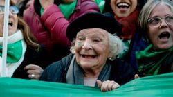 Esta es la abuelita que lucha por legalizar el aborto en