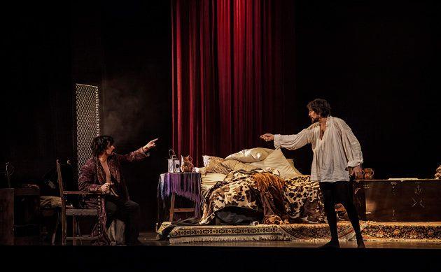 Javier Collado Goyanes y José Manuel Seda en un escena de La